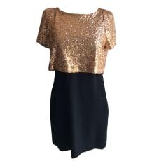 Midi-Kleid MAJE Gold, Bronze, Kupfer