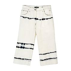 Wide Leg Jeans, Boyfriend Jeans DOLCE & GABBANA Beige, camel