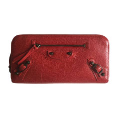Wallet BALENCIAGA Red, burgundy