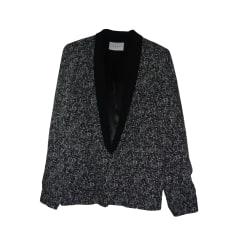 Blazer, veste tailleur SANDRO Noir
