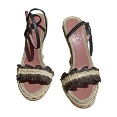Sandales compensées ALAÏA Multicouleur