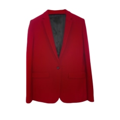 Blazer, veste tailleur THE KOOPLES Rouge, bordeaux