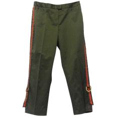 Pantalone slim, a sigaretta ICEBERG Verde