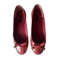 Ballet Flats LOUIS VUITTON Pink, fuchsia, light pink
