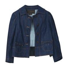 Veste en jean LOUIS VUITTON Bleu, bleu marine, bleu turquoise