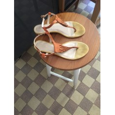 Sandales plates  MELLOW YELLOW Beige, camel