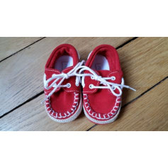 Lace Up Shoes JACADI Red, burgundy