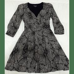 Robe mi-longue ARMANI EXCHANGE Noir & blanc