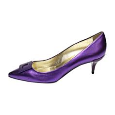 Pumps, Heels ROGER VIVIER Purple, mauve, lavender