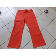 Pantalon droit Chrismas's  pas cher