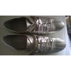 Chaussures à lacets  REGARD Argenté, acier