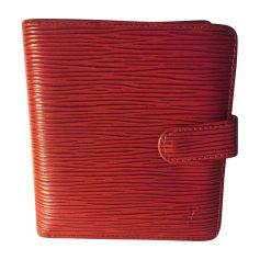 Wallet LOUIS VUITTON Red, burgundy