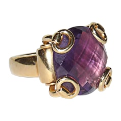 Ring GUCCI Purple, mauve, lavender