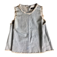 Top, T-shirt J BRAND Blue, navy, turquoise