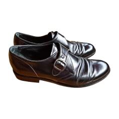 Chaussures à boucles TOD'S Noir