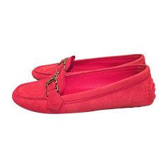 Loafers LOUIS VUITTON Pink, fuchsia, light pink