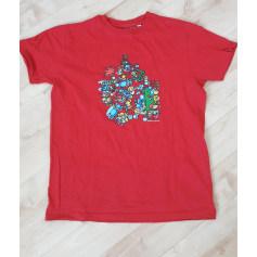 Top, tee-shirt KUKUXUMUSU Rouge, bordeaux