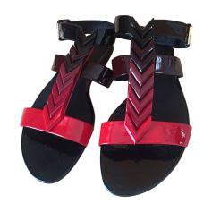 Flat Sandals LOUIS VUITTON Multicolor