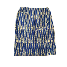 Jupe mi-longue TARA JARMON Bleu, bleu marine, bleu turquoise