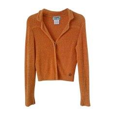 Gilet, cardigan CHANEL Arancione