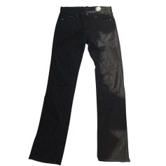 Jeans droit ARMANI JEANS Noir