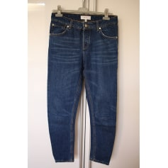 Jeans large, boyfriend MANGO Bleu, bleu marine, bleu turquoise