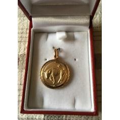 Anhänger, Halsketten mit Anhänger JEAN DELATOUR Gold, Bronze, Kupfer