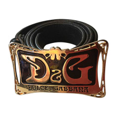Belt DOLCE & GABBANA Black