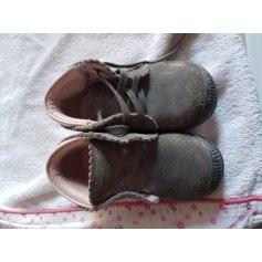 Lace Up Shoes JACADI Gray, charcoal