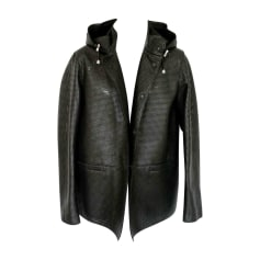 Leather Jacket EMPORIO ARMANI Black