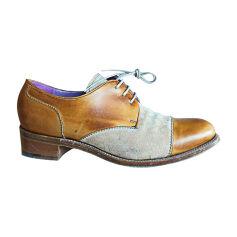 Chaussures à lacets  BARKER Beige, camel
