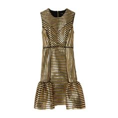 Mini-Kleid MAJE Gold, Bronze, Kupfer