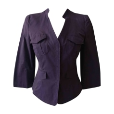 Blazer PHILOSOPHY D'ALBERTA FERRETTI Purple, mauve, lavender