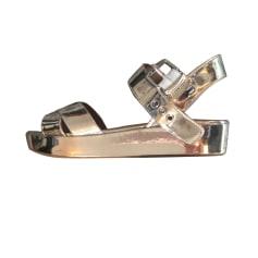 Sandales compensées BIMBA & LOLA Doré, bronze, cuivre