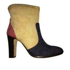 Bottines & low boots à talons MANOUSH Multicouleur