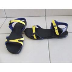 Sandales plates  ARCHE Jaune