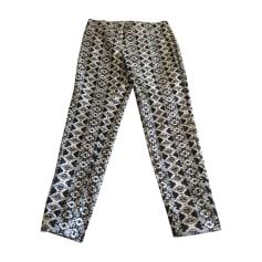 Pantalon droit BALMAIN Multicouleur