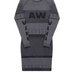 Robe courte ALEXANDER WANG X H&M Gris, anthracite