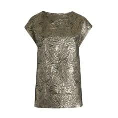 Top, tee-shirt ZADIG & VOLTAIRE Doré, bronze, cuivre