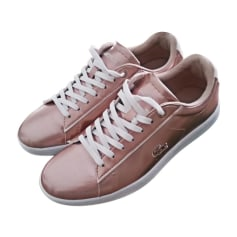 Sneakers LACOSTE Golden, bronze, copper