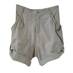 Pantalone largo TSUMORI CHISATO Beige, cammello