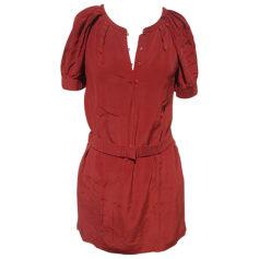 Robe tunique ATHÉ VANESSA BRUNO Rouge, bordeaux