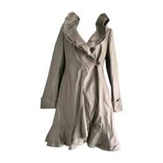 Waterproof, Trench ARMANI COLLEZIONI Gray, charcoal