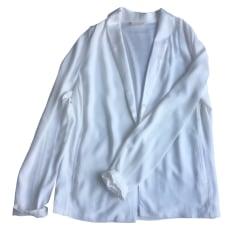 Blazer, veste tailleur AMERICAN VINTAGE Blanc, blanc cassé, écru