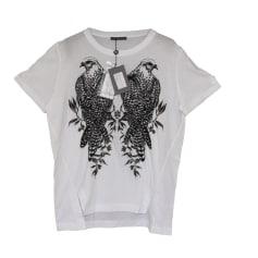 Top, T-shirt ALEXANDER MCQUEEN White, off-white, ecru