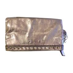 Handtasche Leder SONIA RYKIEL Gold, Bronze, Kupfer