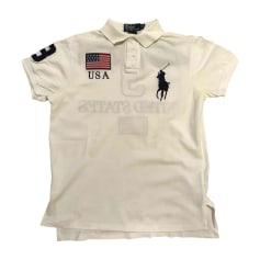 Poloshirt RALPH LAUREN Weiß, elfenbeinfarben