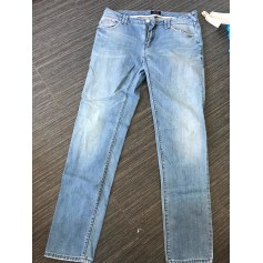 Jeans droit ARMANI JEANS Délavé