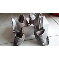 Sandales à talons REGARD Marron