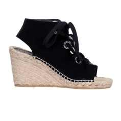 Wedge Sandals ASH Black
